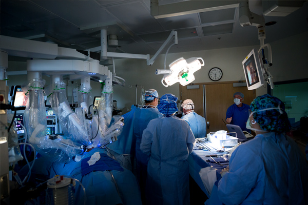 operation with anesthesia
